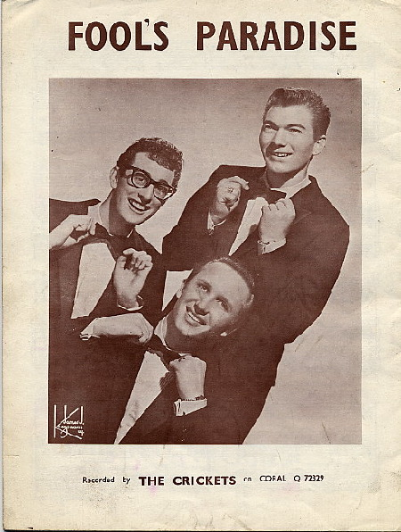 BUDDY HOLLY FOOL'S PARADISE