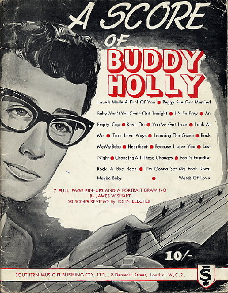 BUDDY HOLLY, A score of