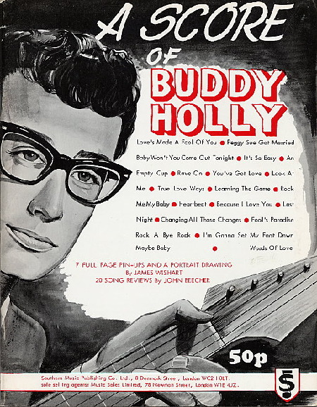 A score of BUDDY HOLLY