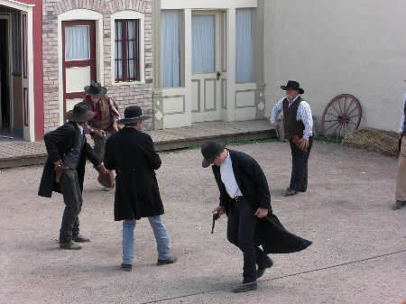 Tombstone Gunfight