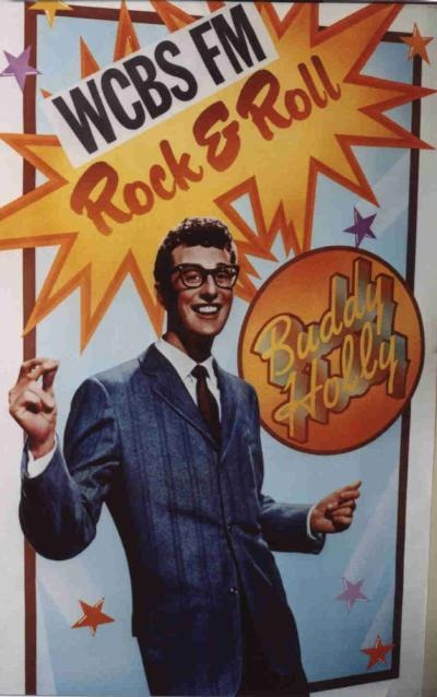 Big Buddy Holly poster from the 9 LP box