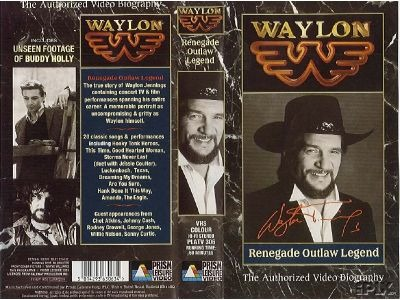 Waylon on VHS