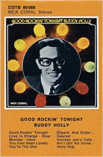 BUDDY HOLLY MCA Coral COTB 80 088 GERMANY