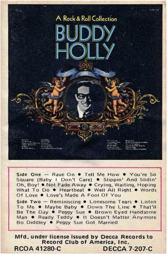 BUDDY HOLLY  RCOA 41280-C DECCA 7-207-C USA