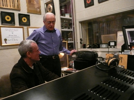 Hans and Kenneth Broad - Control Room Norman Petty Recording Studios