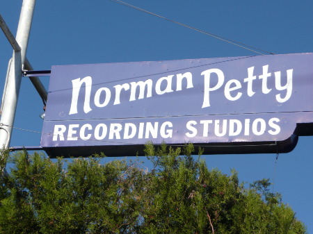 Outside the Norman Petty Studios 1