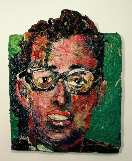 BUDDY HOLLY PAINTING BY BRETT STUART WILSON