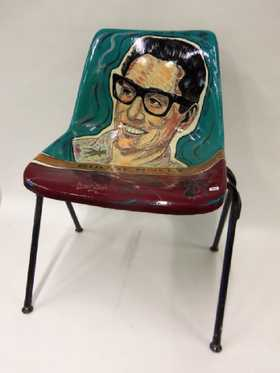 The unique BUDDY HOLLY CHAIR