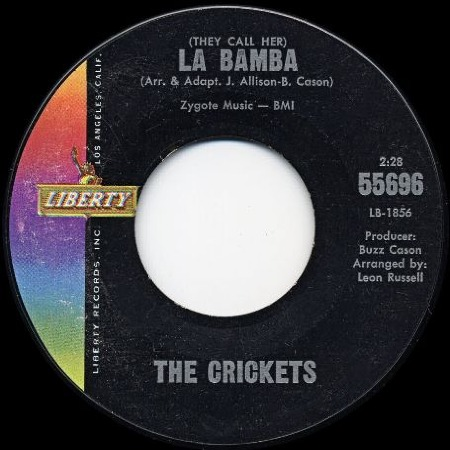THE CRICKETS La Bamba