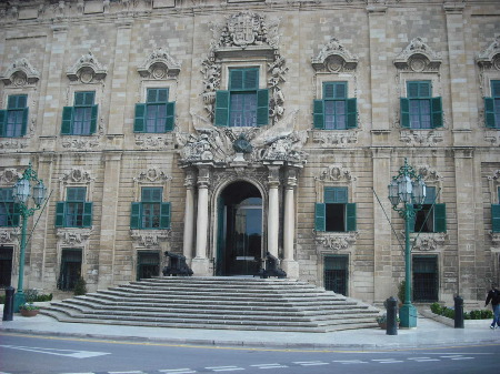Auberge de Castille- the Prime Minister's office