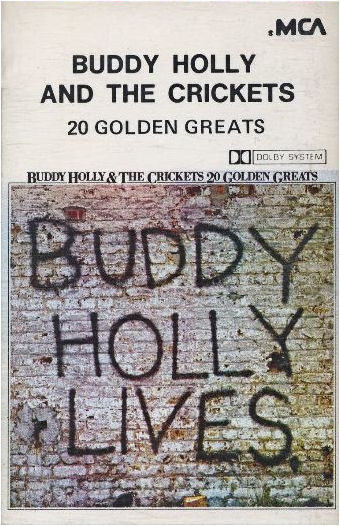 BUDDY HOLLY AND THE CRICKETS 20 GOLDEN GREATS