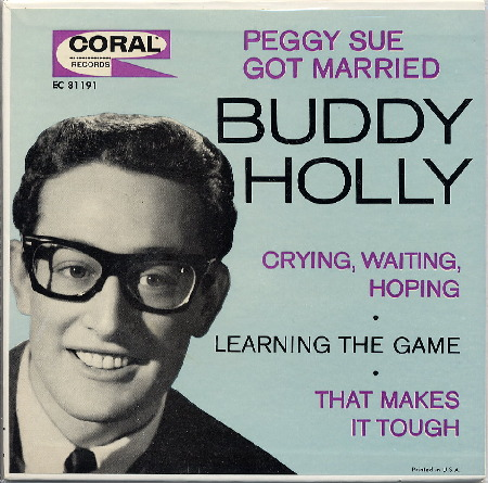 EP PEGGY SUE GOT MARRIED - BUDDY HOLLY