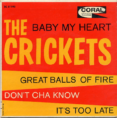 EP THE CRICKETS