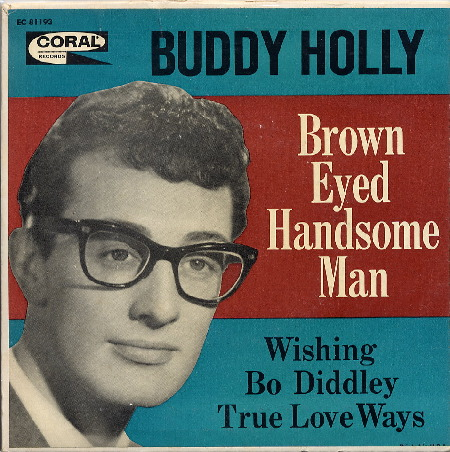EP BROWN EYED HANDSOME MAN - BUDDY HOLLY