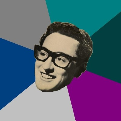 Buddy Holly by unknown artist