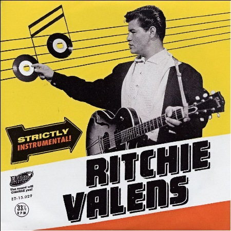 El Toro Records ET-15.029 Ritchie Valens - Strictly Instrumental  (6 track 33rpm vinyl EP)