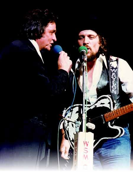 Johnny and Waylon